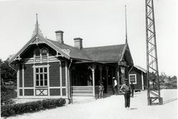Berga gamla station.