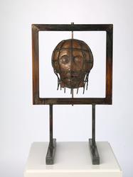 Fengslet hode [Skulptur]