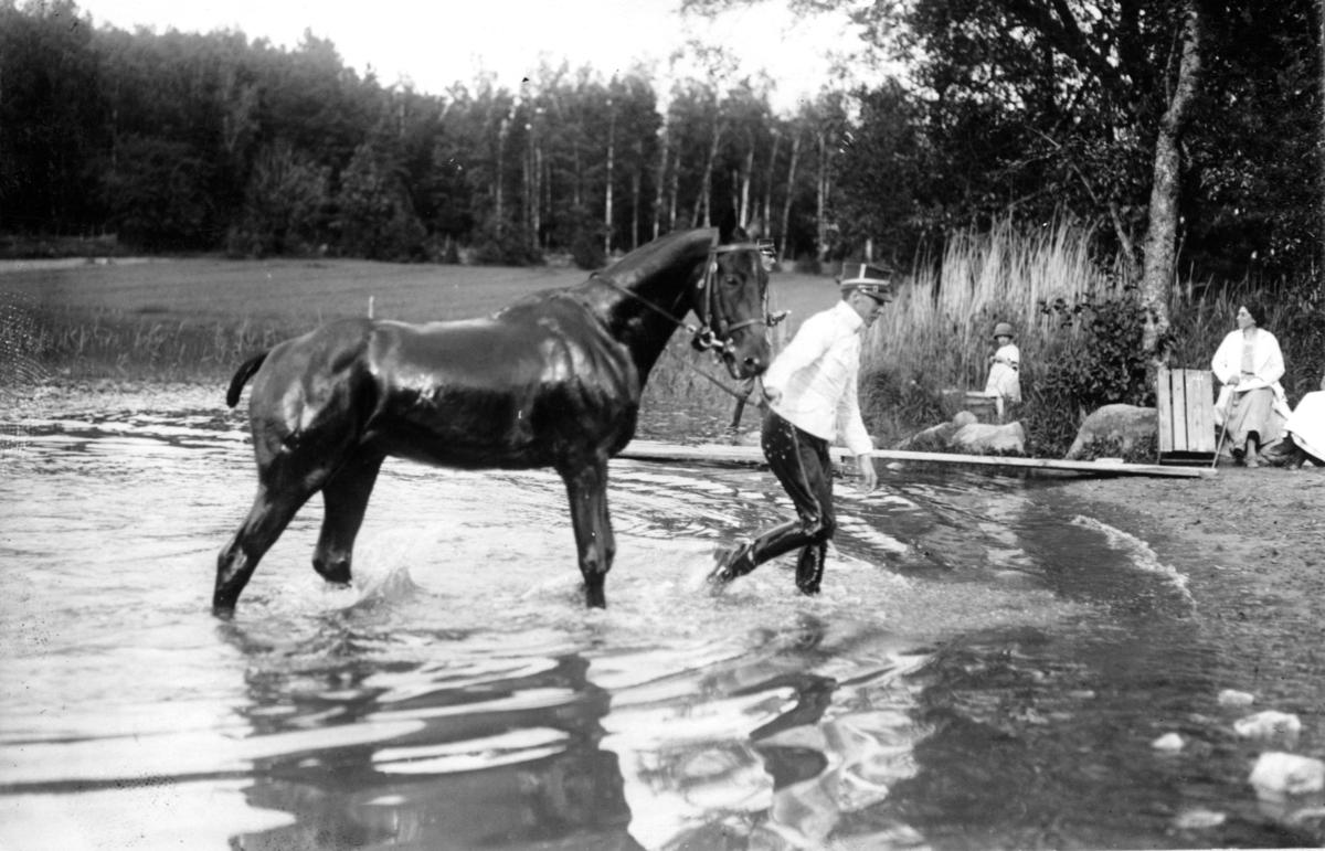 Vattenträning.