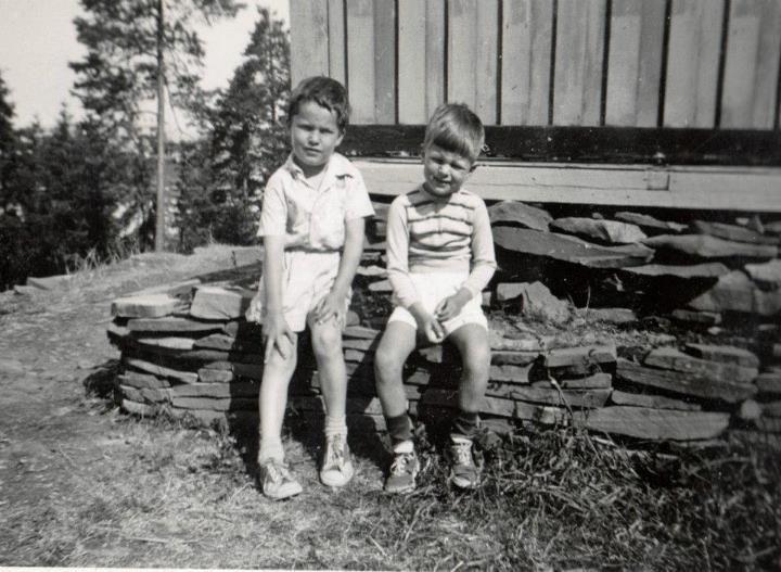 Gutter på 1950-tallet (Foto/Photo)