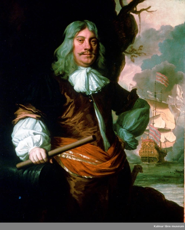 Målning föreställande Cornelius Tromp.