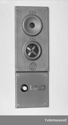 Dørtelefon, Elektrisk Bureau.