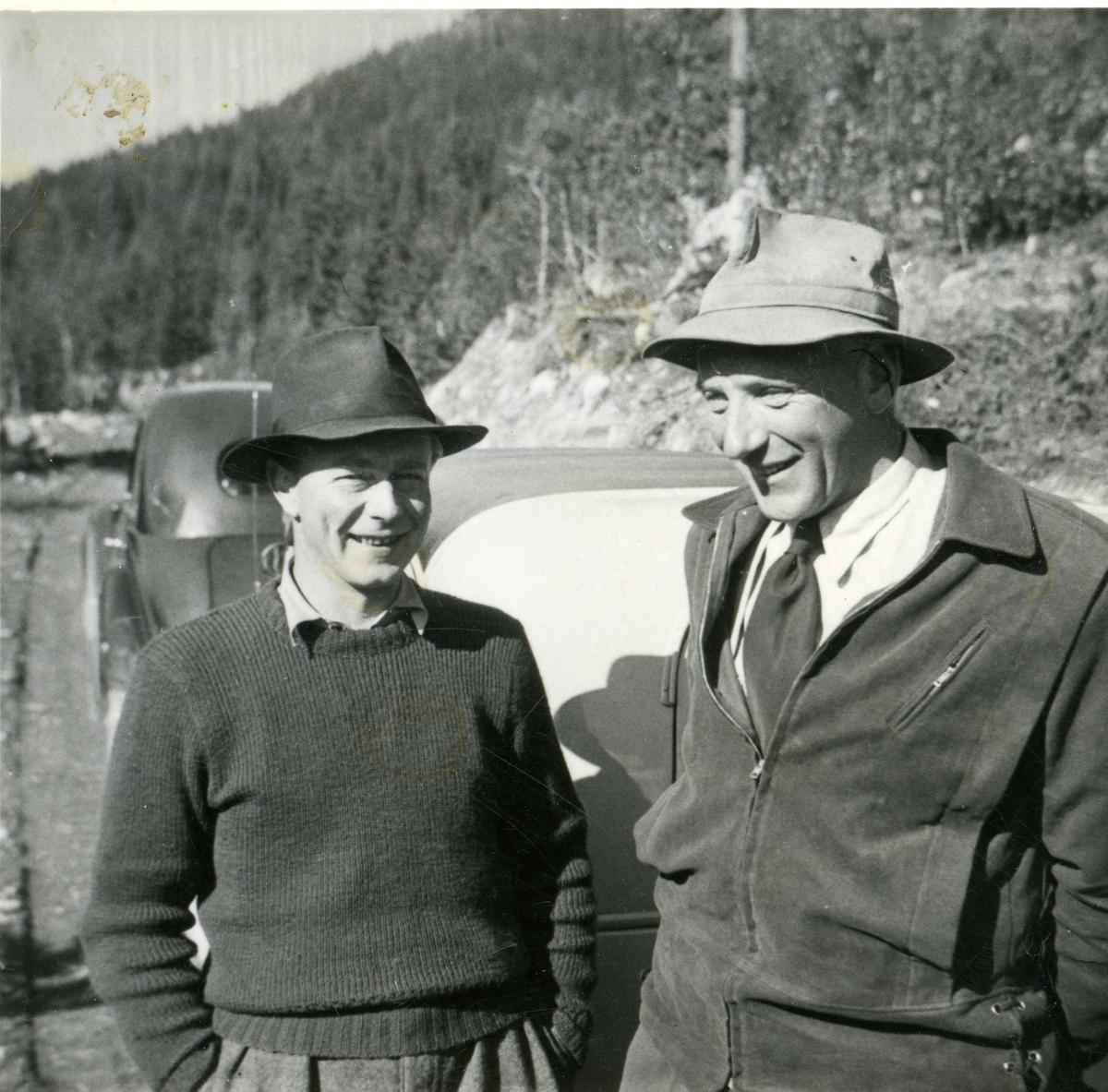 Ola Garthus truleg saman med Gudbrand Brager.