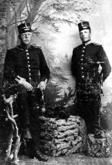 Kungliga Västgöta regementes officerskår, album. DI: 3.
