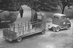 Motorfordon för transporter inom varvsområdet.