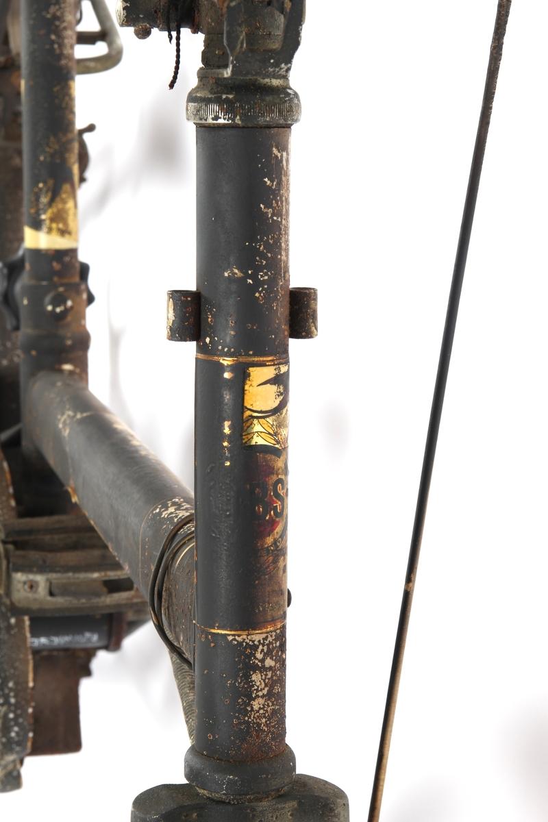 Kombisykkel som har Torpedo frinav med innebygd trommelbrems.