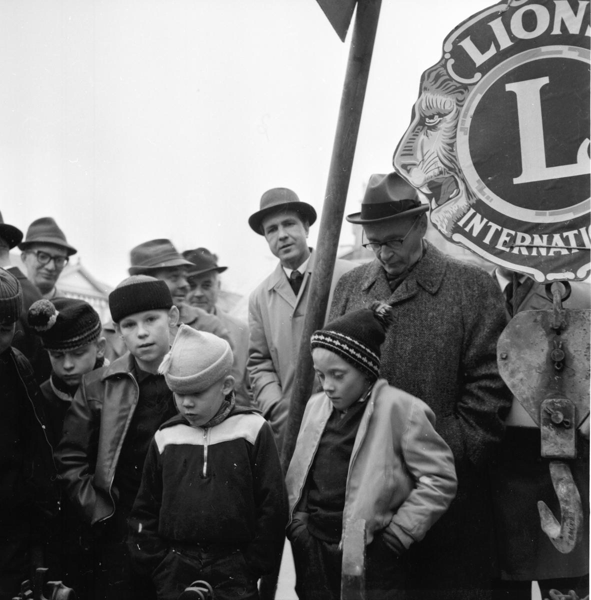 Lion-stenen. April 1962 Maj 2/5 1962