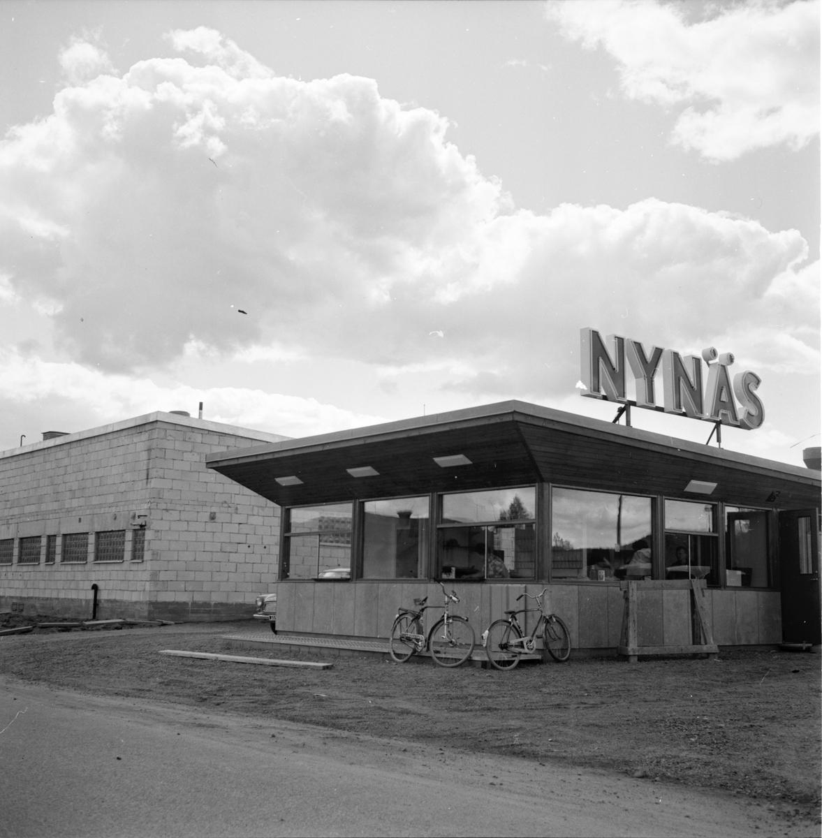 Arbrå, Nynäs nya bensinmack, 1 Juli 1964