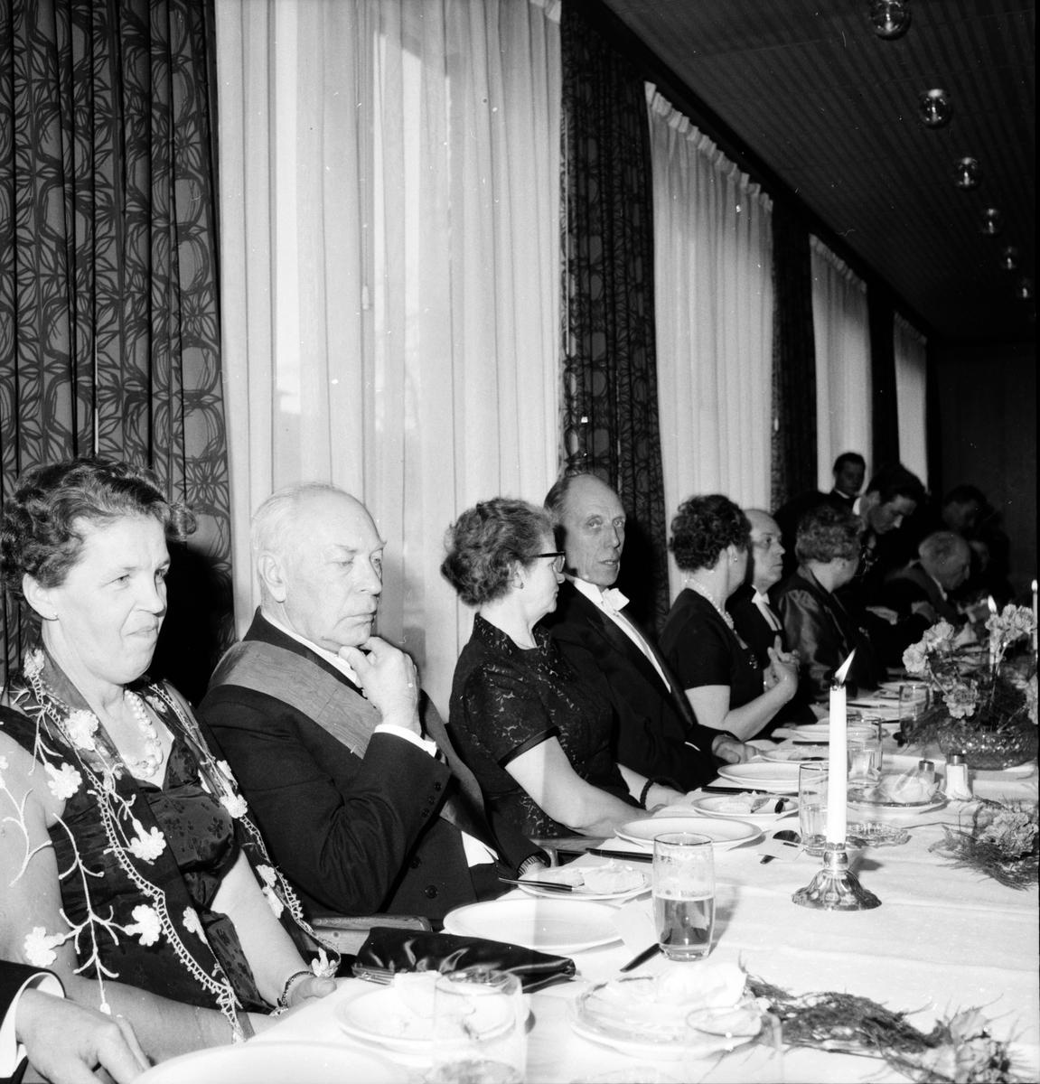 Tempelriddarfesten, Frimurarhotellet, 6 April 1963