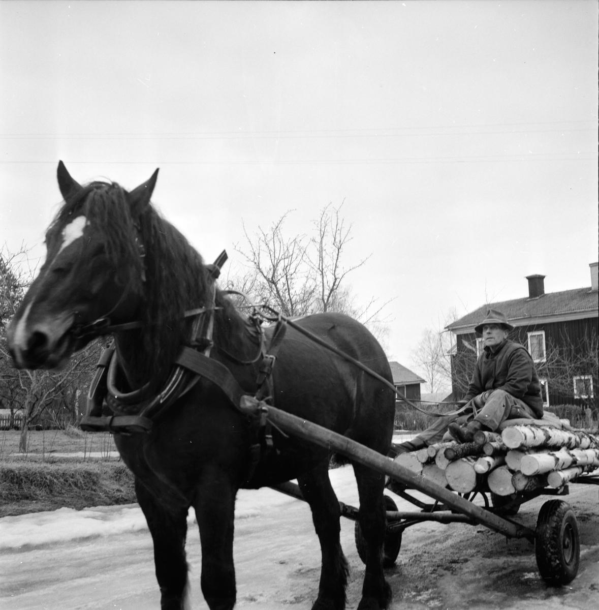 Söderala, Svante Häger o Erik Lindberg, 3 April 1964