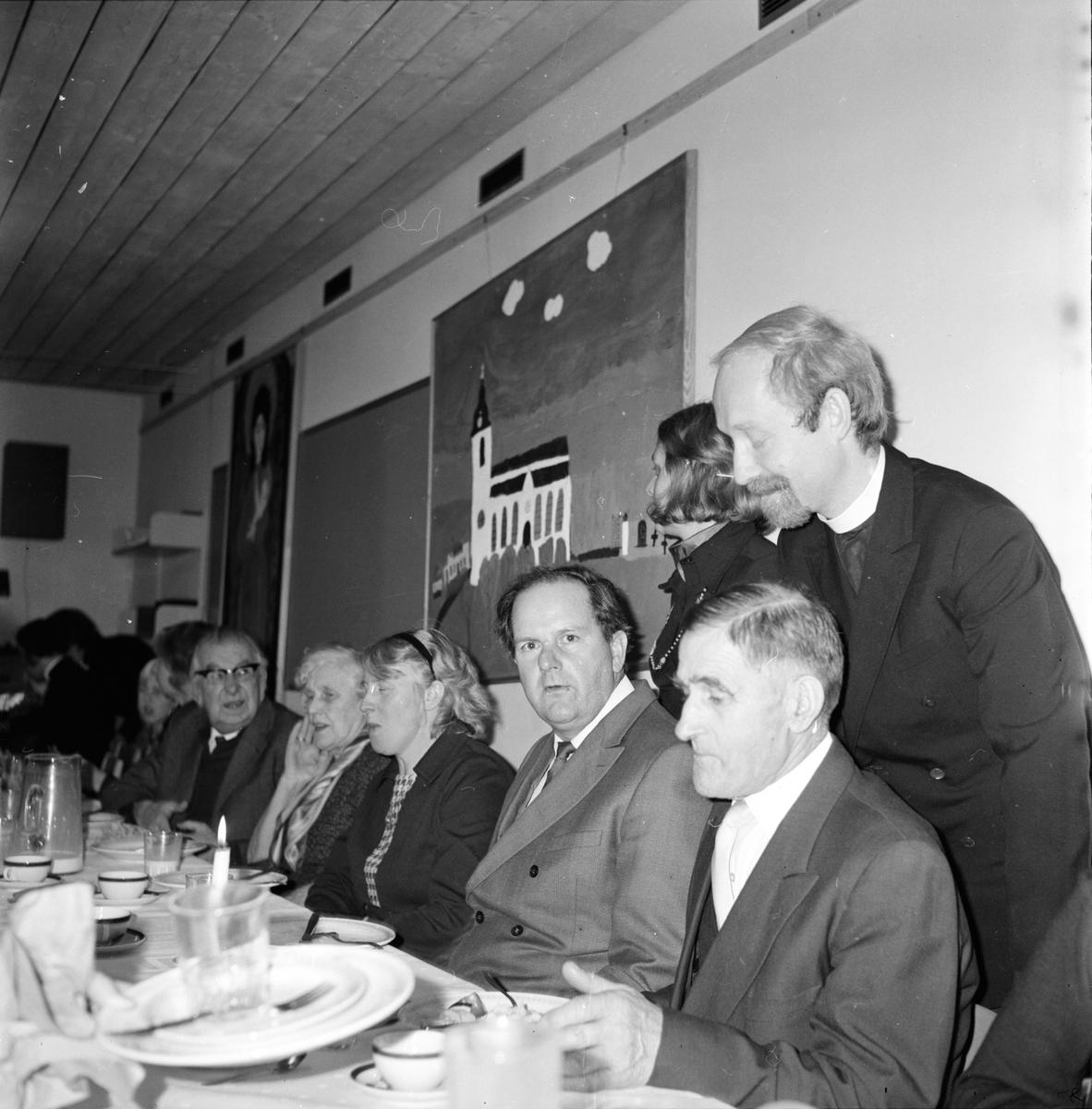 Undersvik, Kyrklunch, November 1973
