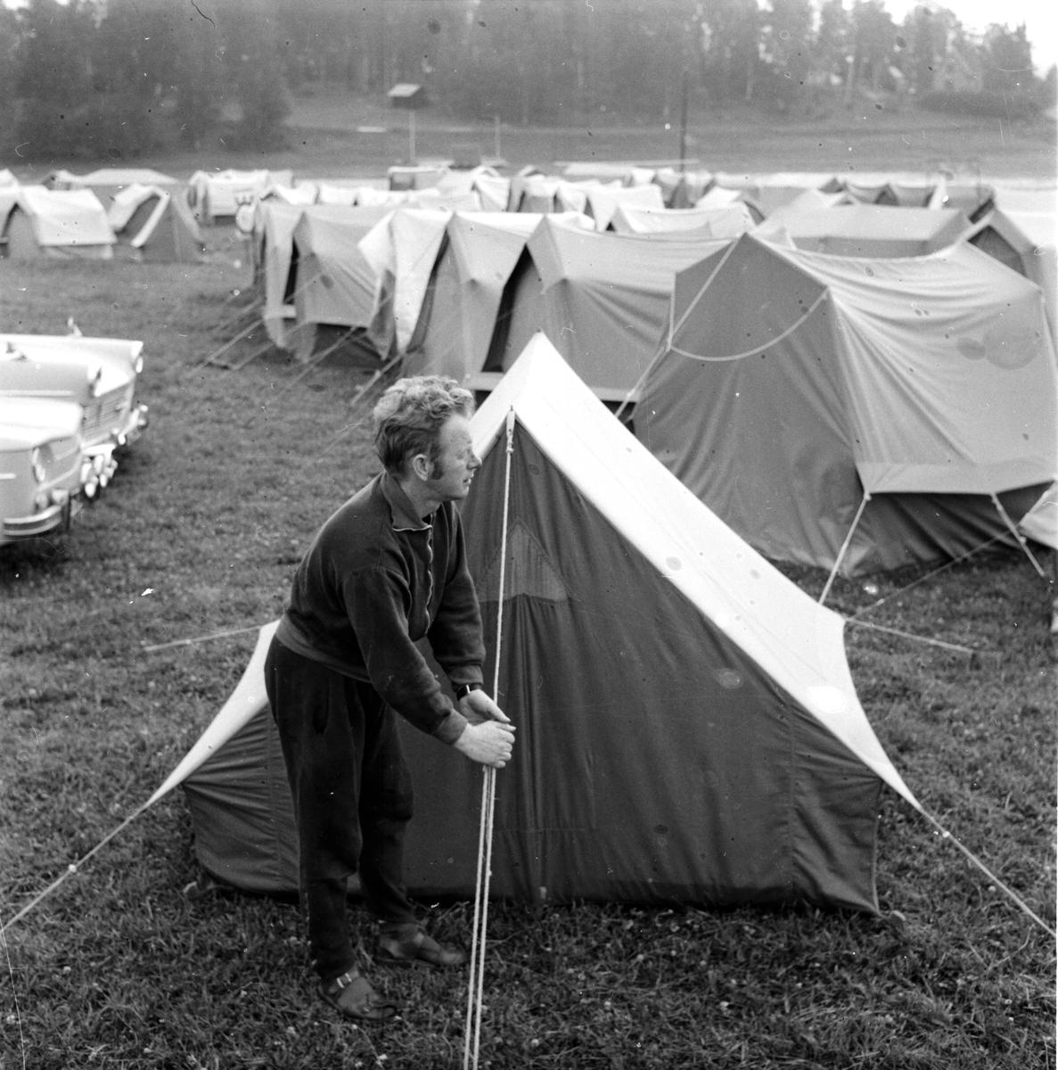Y-H Lägret i Häggersta, 23 Juli 1965