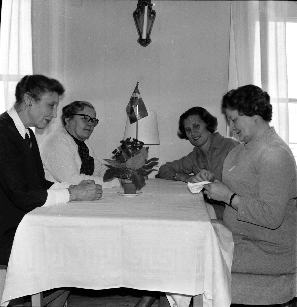 Undersvik, Hemslöjdskurs på Stiftsgården, 28 Jan 1969