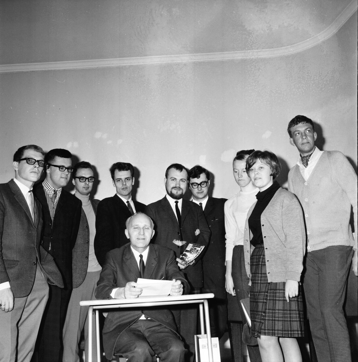 Läroverket, G.H. Nations besök, 3 April 1967