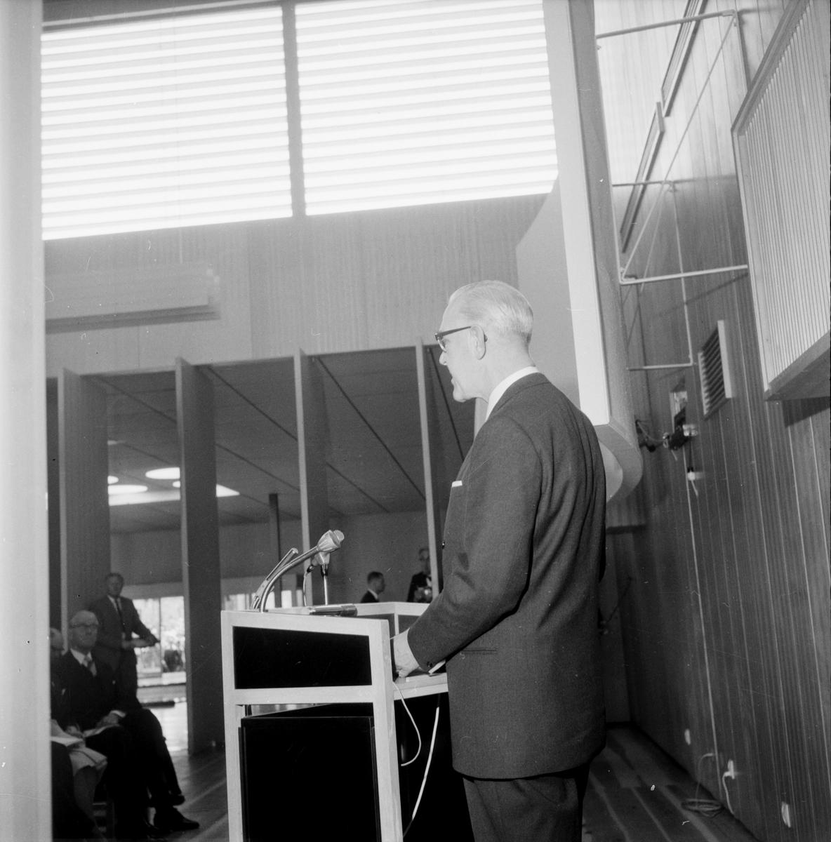 Silvanum, invigning, 1 juni 1961