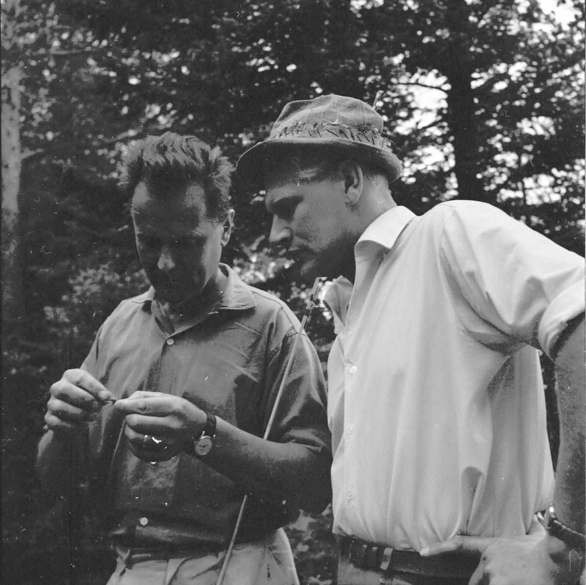 Bullebergstjärn, Provfiske 7/8-1962