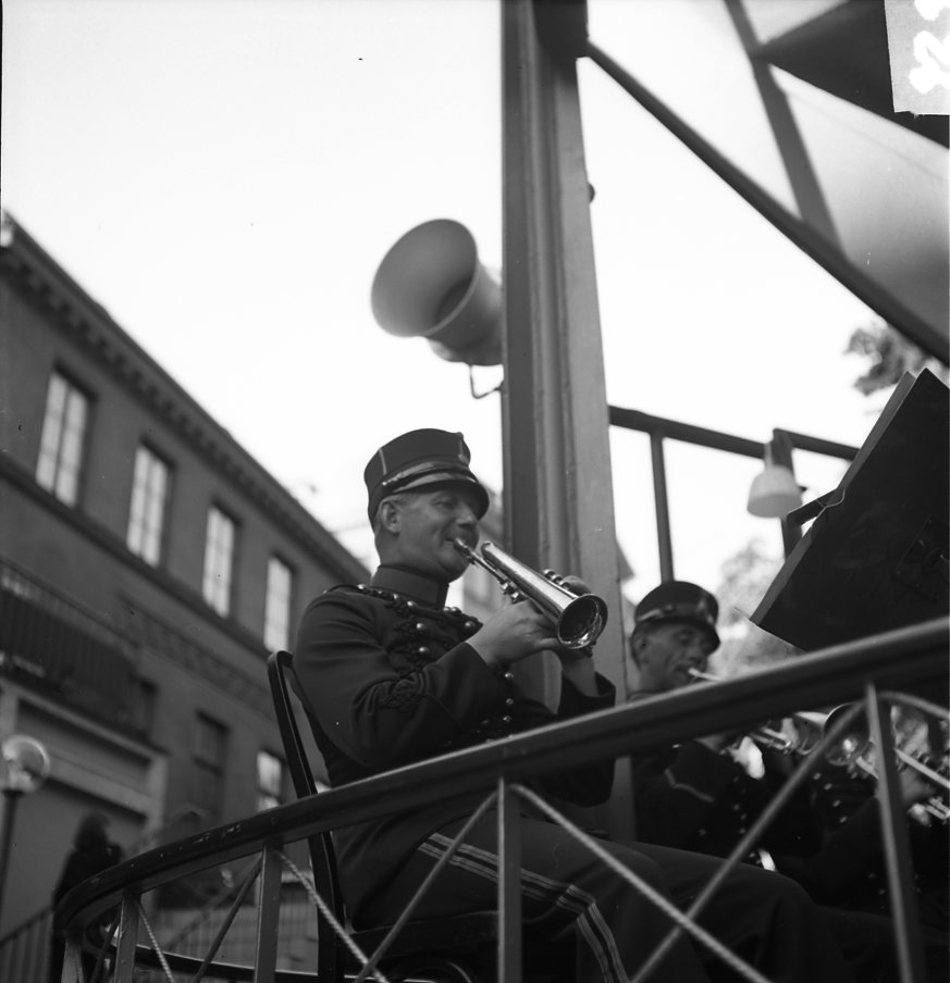 Pettersson, Oscar. A 6, med Ess-kornett.