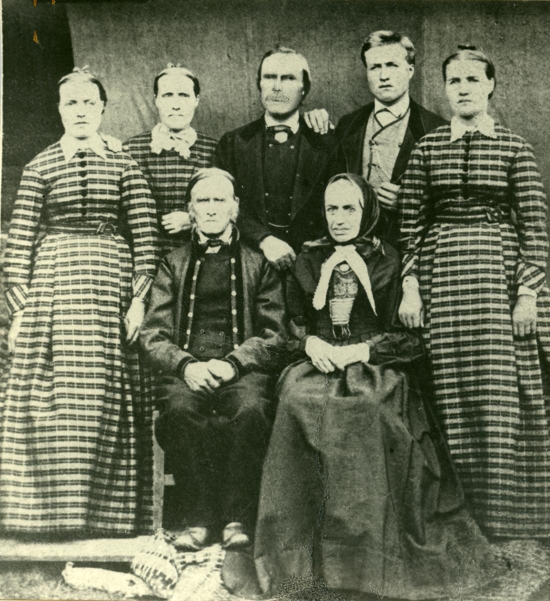 Familien på Dølvensæter.
