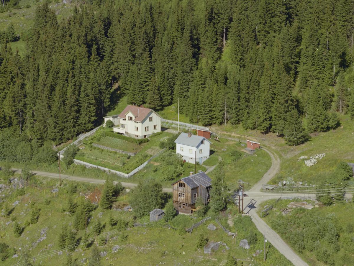 Øyer, Sør-Tretten. Kulturlandskap, skog, bygninger