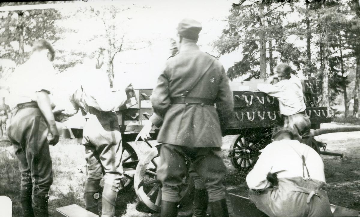 Ammunitionsvagn.