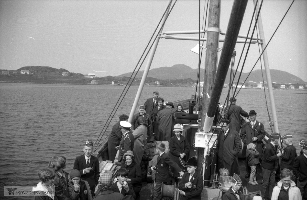 """mai 1965"".""Skulekorpsets tur til Bjørnsund"""