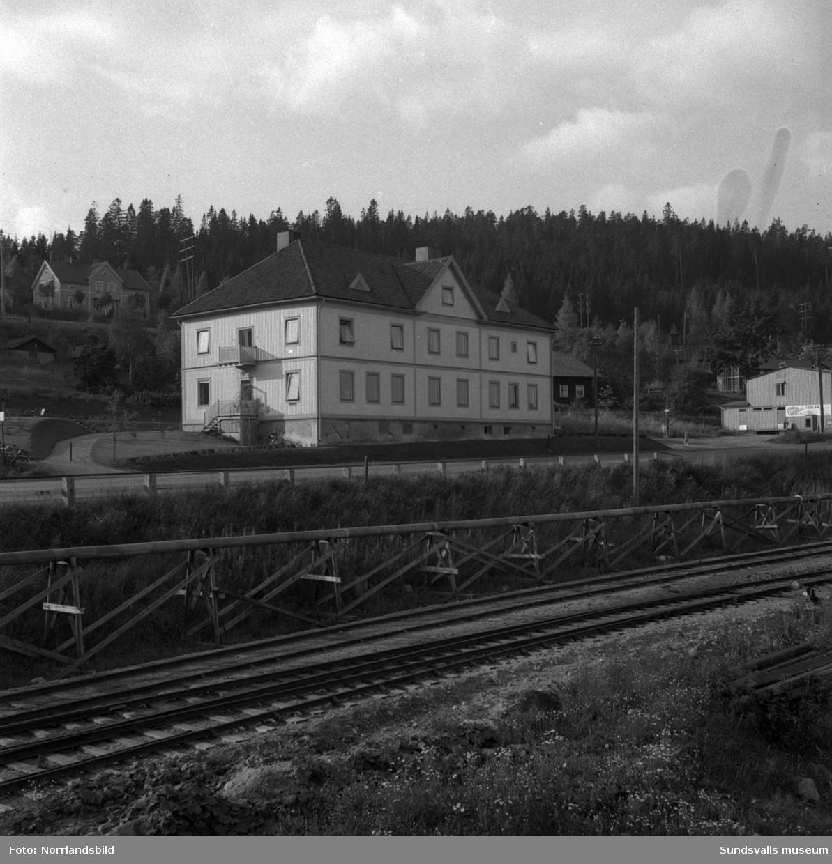 Mässen vid Svartviks pappersbruk.