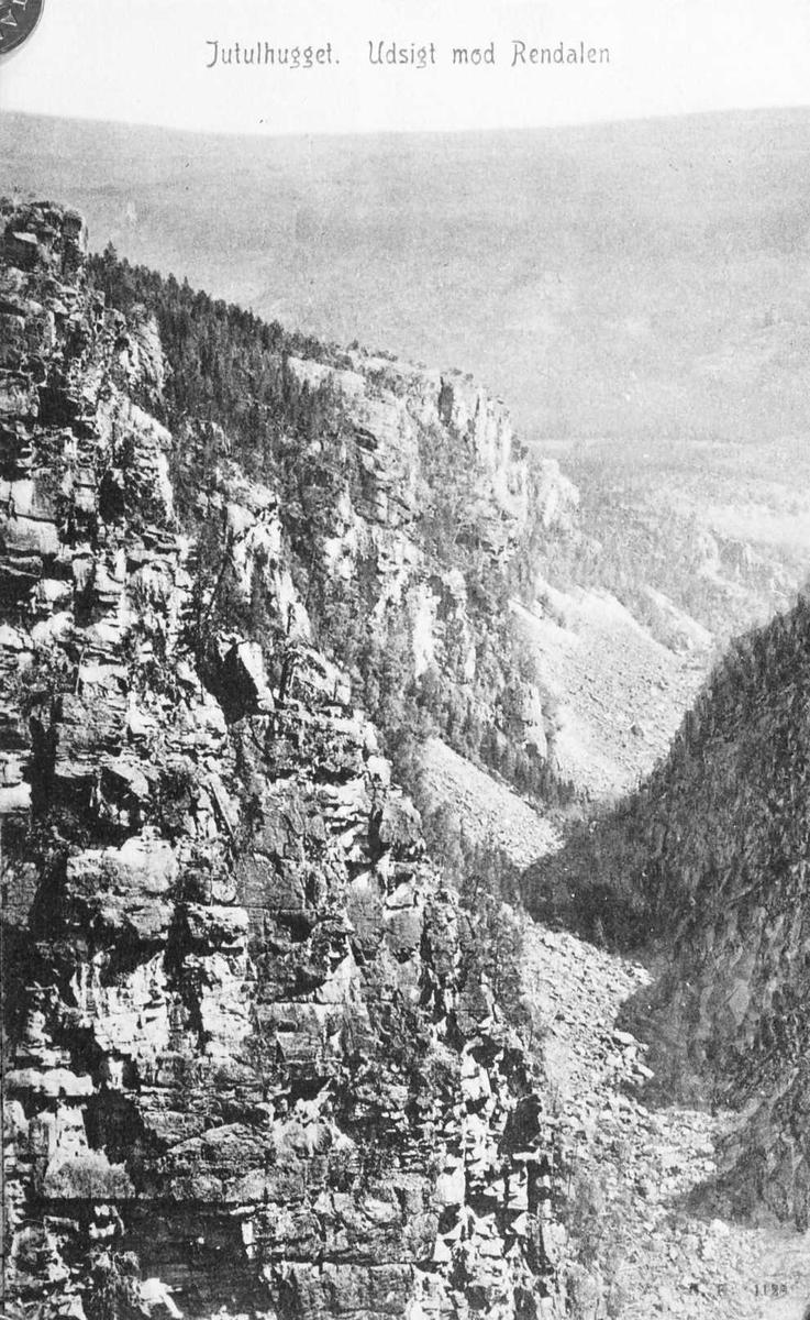 Jutulhogget, utsikt mot Rendalen