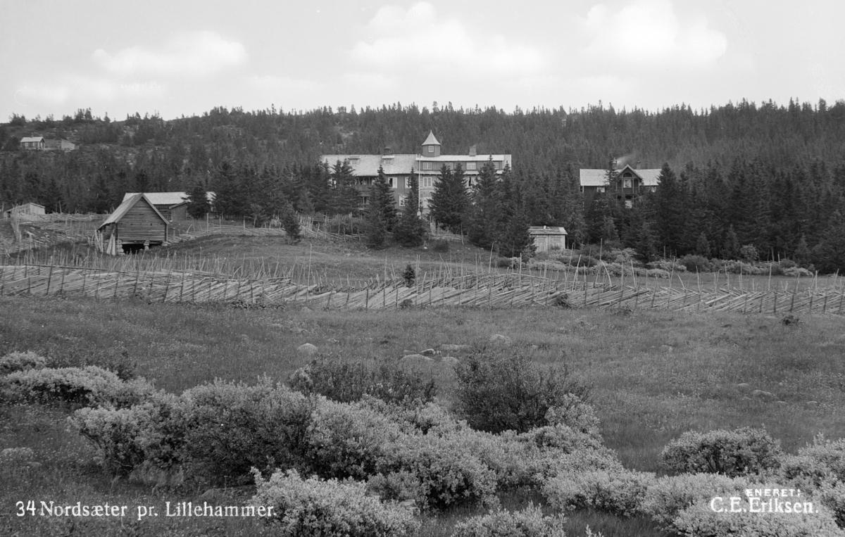 Hotel på Nordseter ved Lillehammer.