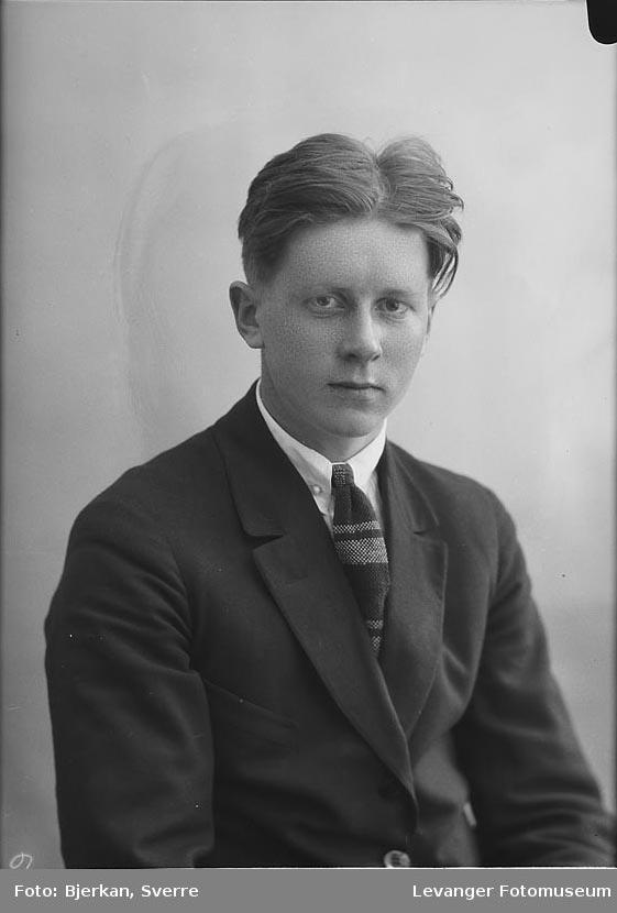 Portrett av Odd Lerås