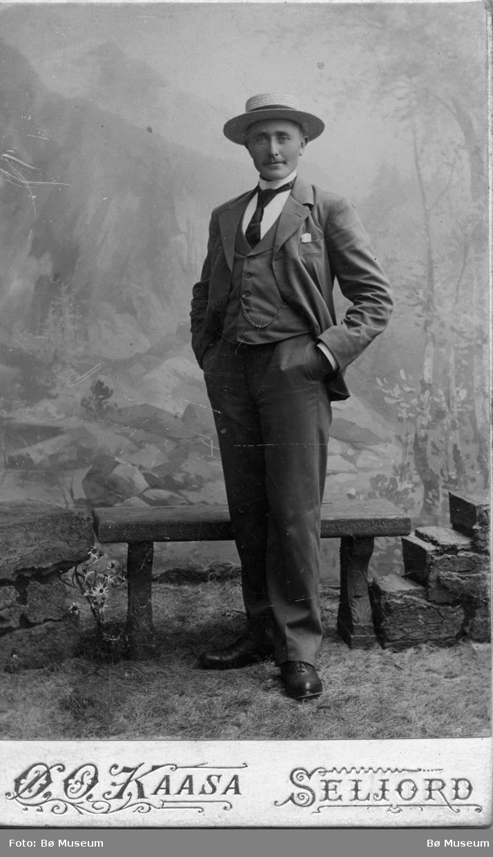 Portrett av Østen O. Kaasa
