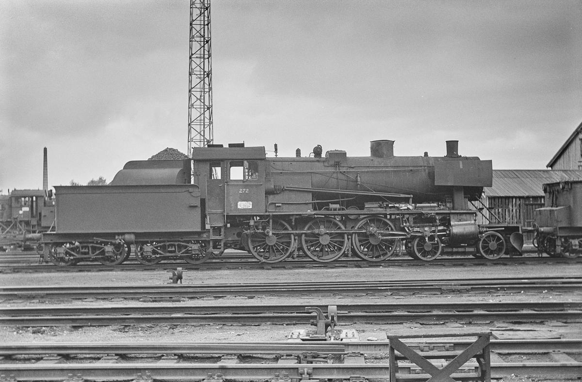 Damplokomotiv type 30a nr. 272 på Marienborg ved Trondheim.
