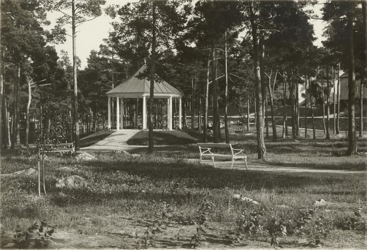 Musikpaviljongen vid kasernområdet, Södermanlands regemente I 10.