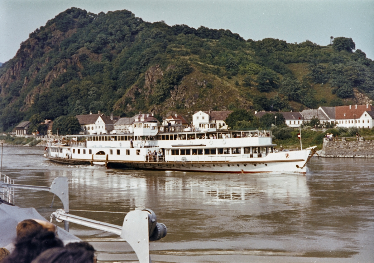 MS Stadt Passau på Donau