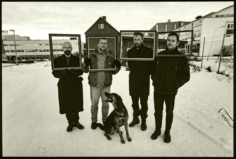 Skrømt og Torvald på Svartlamon 1997. Foto: Aage Asphaug (Foto/Photo)