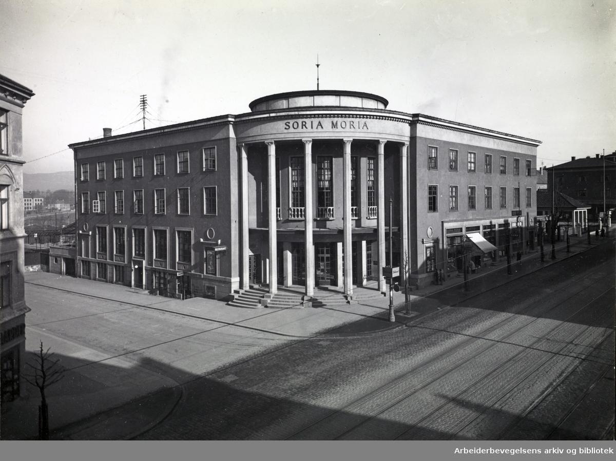 Soria Moria på Torshov, Vogts gate ca. 1930.