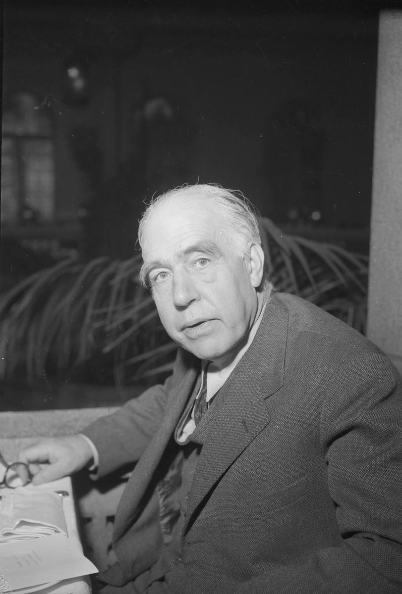 Niels Bohr besøker Trondheim