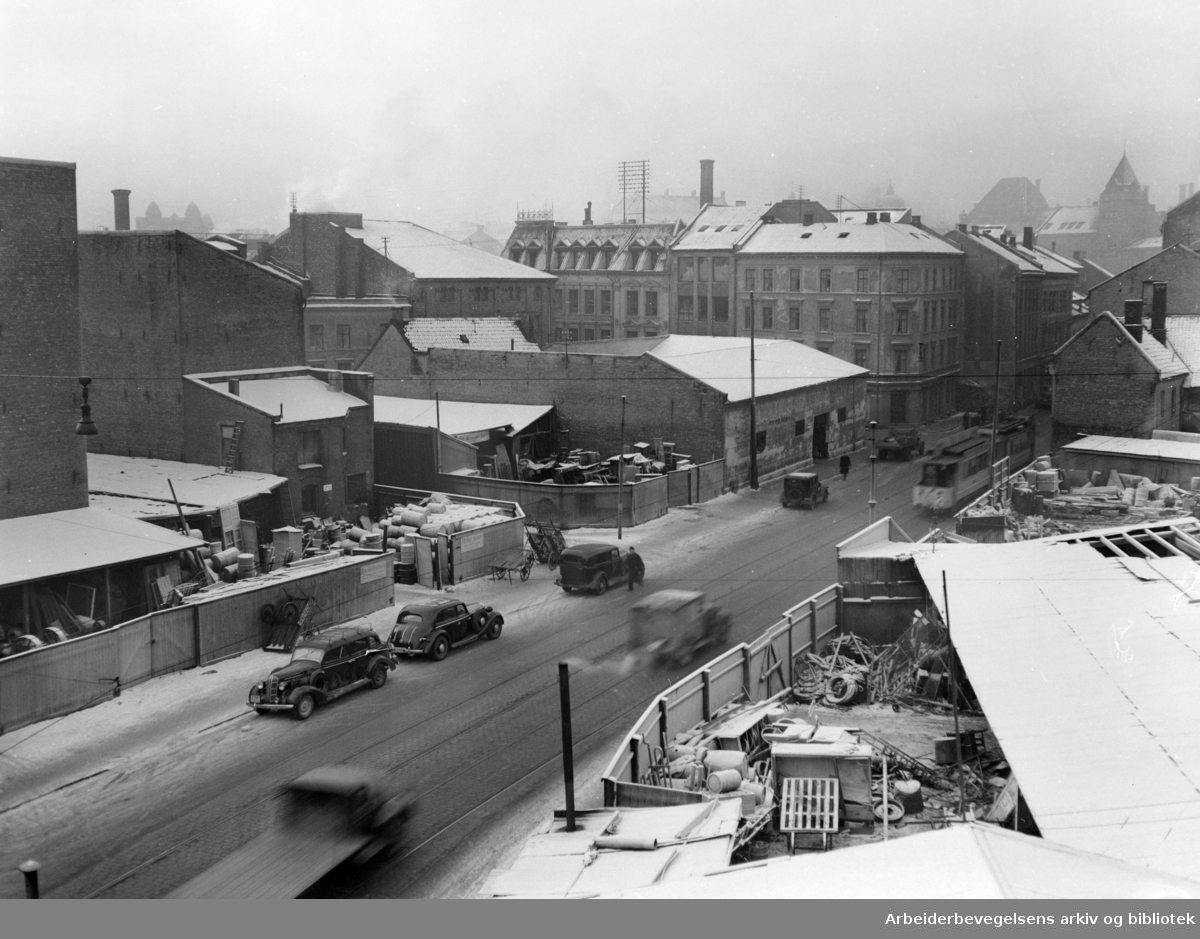 Vognmannsgata. Desember 1949