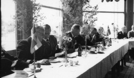 Jubileum 50 års, A 6. Lunchen i marketenreriet.