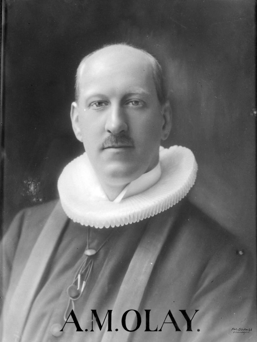 Andreas Marius Olay. Sokneprest i Byneset kirke (kopi)