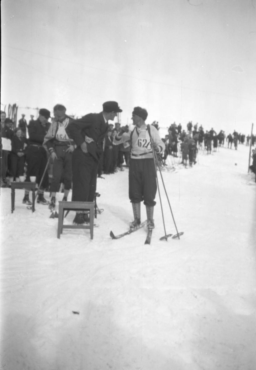 Skiløp på Nordseter.