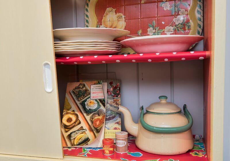 50-tallets kjøkkenskap (Foto/Photo)