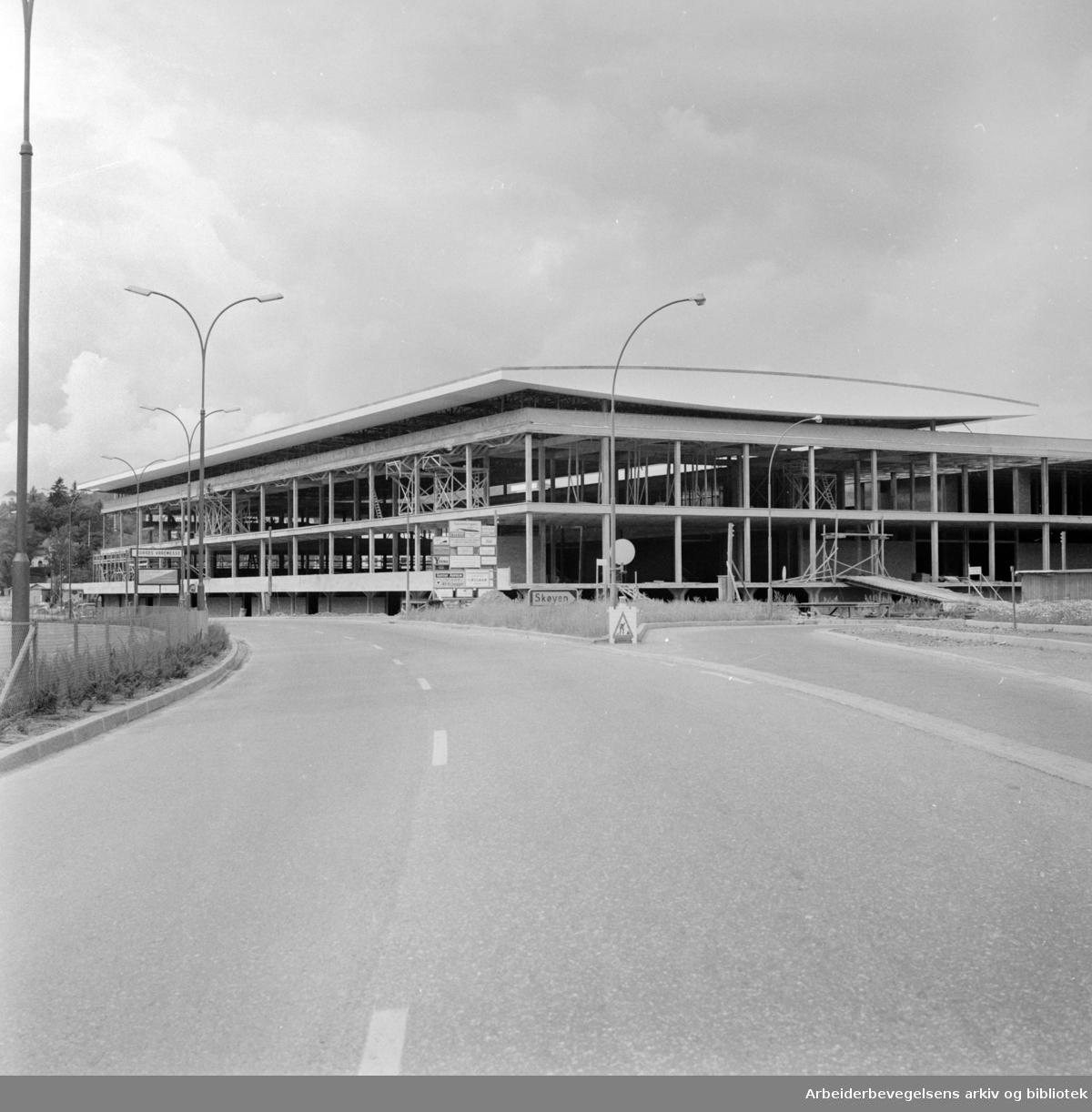 Norges Varemesse, Sjølyst. Juli 1961