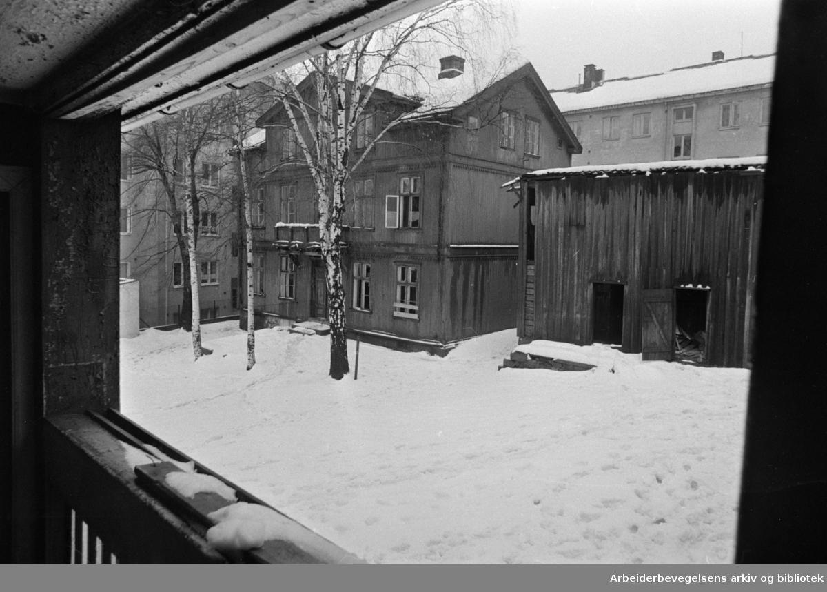 Maridalsveien 72. Januar 1969