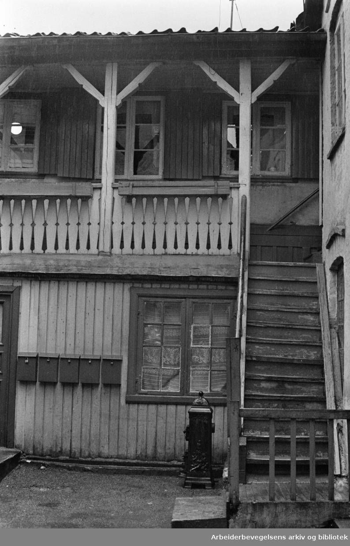 Maridalsveien: Maridalsveien 84. November 1961