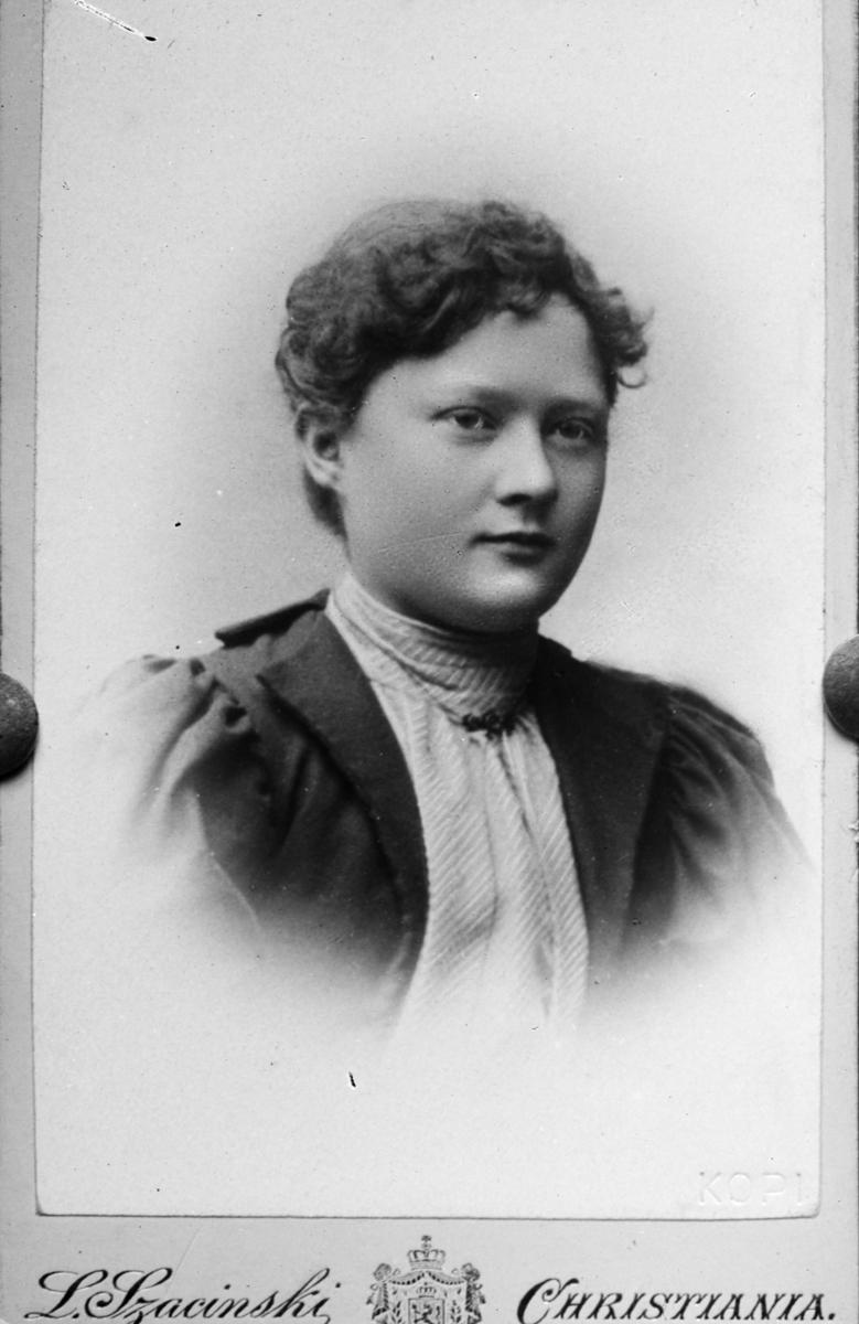 Portrett av Dr Stoltenbergs søster.