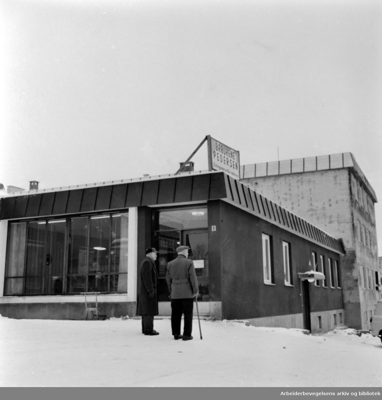 Kalbakken. Apoteket. Januar 1961