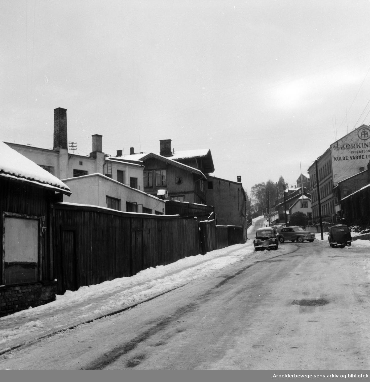 Ekebergveien 1B - 3 og 3B. Konowsgt. 2. Oktober 1954