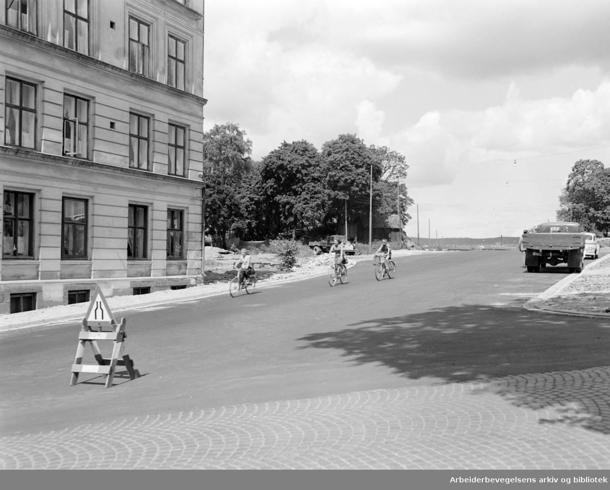 Finnmarksgata. Juli 1957..
