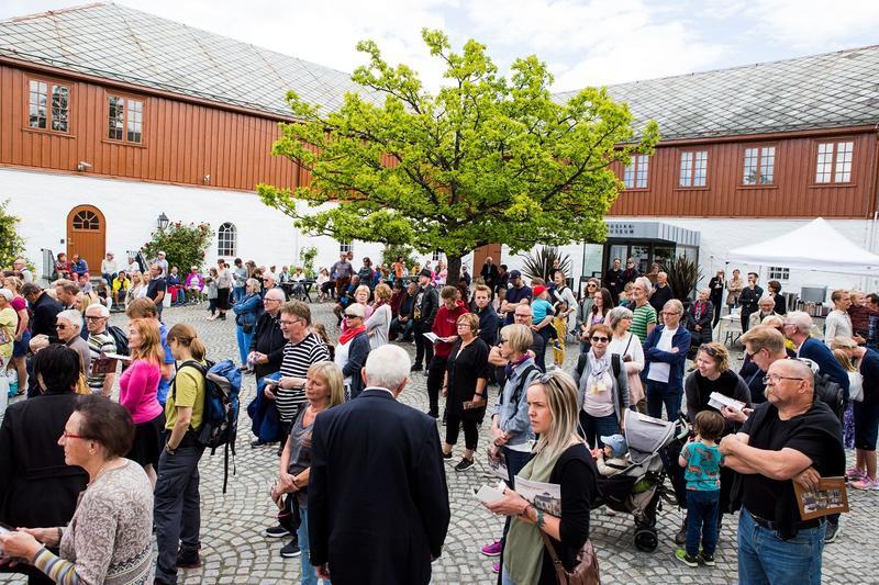 700 mennesker var innom Ringve på lørdag. Foto: Jan Ove Iversen