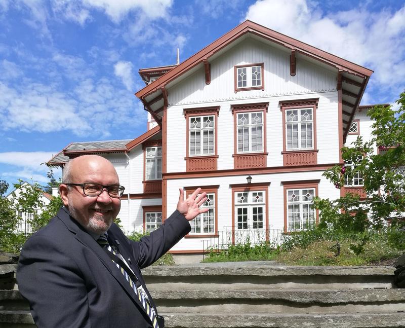 - En glede å invitere til folkefest, sier museumsdirektør Ivar Roger Hansen. Foto: Ringve Musikkmuseum